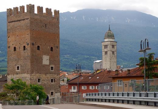Le torri della città di Trento
