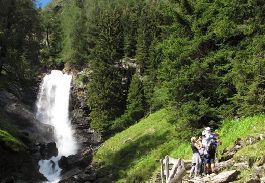 Le cascate di Saént