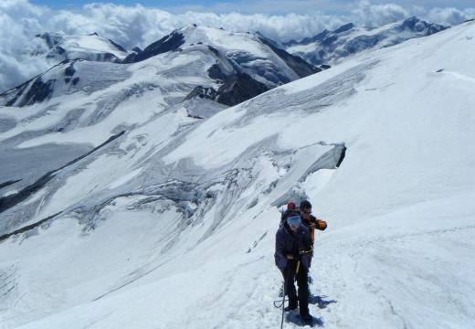Escursioni in alta quota in Val di Sole