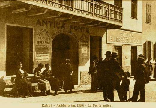 L'antica fonte - Terme di Rabbi