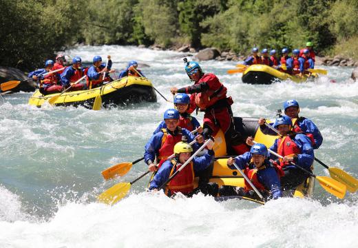 Discese in rafting in Val di Sole - 1