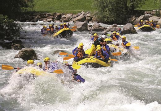 Discese in rafting in Val di Sole - 3