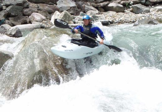 Discese in canoa in Val di Sole