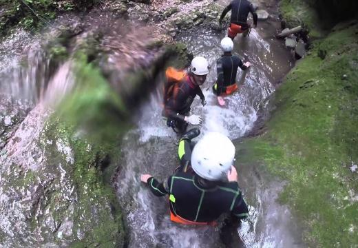 Canyoning in Val di Sole - 1