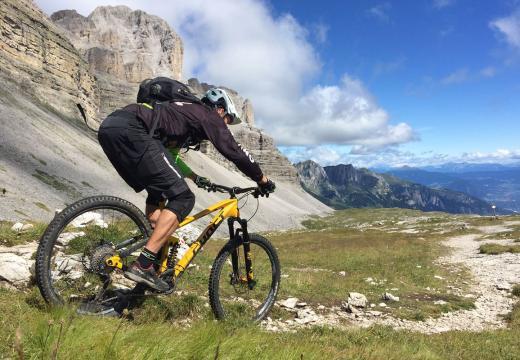 Bike sulle Dolomiti di Brenta